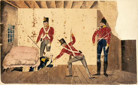 Arrest of Governor Bligh, January 26 1808.