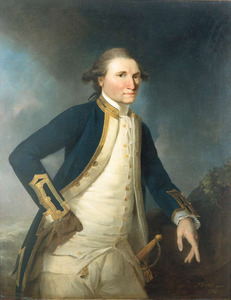 Portrait of Captain James Cook RN, 1782, by John Webber. Image courtesy National Portrait Gallery.