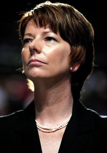 Opposition deputy leader Julia Gillard.