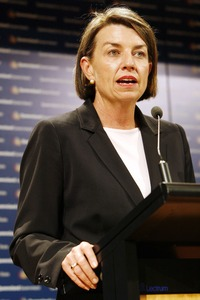 Anna Bligh. Image courtesy of Newspix.