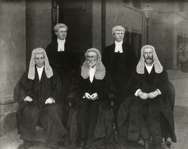 The justices of the first High Court of Australia.