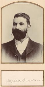 Alfred Deakin, 1898.