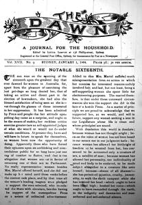The Dawn Paper: A Journal for Australian Women.