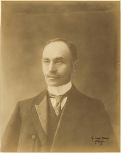 Portrait of Sir Isaac Isaacs.