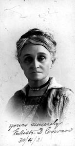 Edith Cowan.