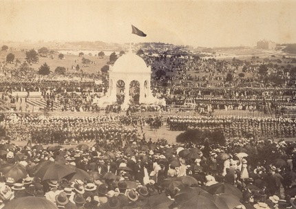 Federation celebrations in Centennial Park, Sydney, 1901.