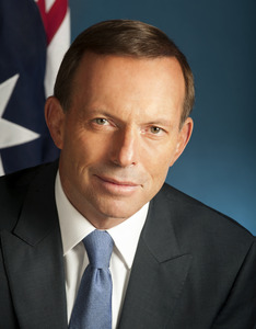 Tony Abbott, 2013. Photo courtesy of Auspic.