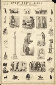 Every body's album and caricature magazine. No 8, London, 1834.